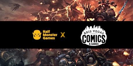 HMG x Bris Vegas Comics Board Game Day tickets