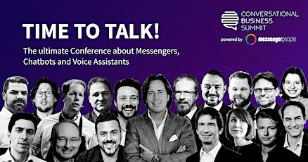 Conversational Business Summit 2021 billets