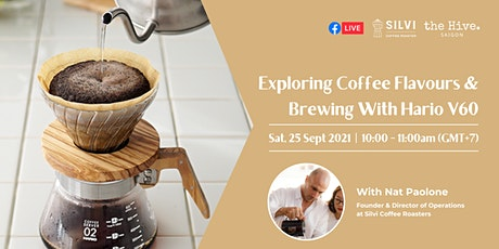 Exploring Coffee Flavours & Brewing With Hario V60 tickets