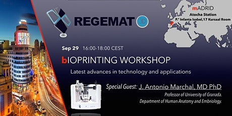 Bioprinting Workshop: Latest Advances in Technologies and Applications entradas