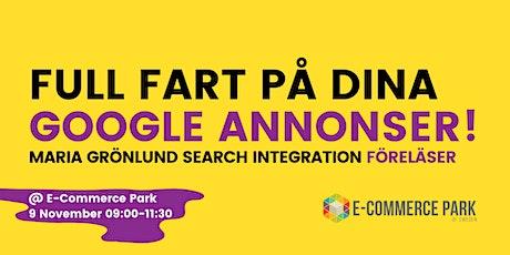 Workshop i Google Ads!  tickets