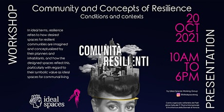 Community and Concepts of Resilience : Conditions and contexts tickets