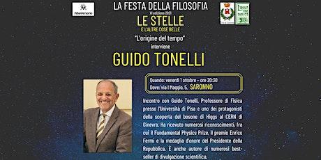 Festa della Filosofia - Saronno: Guido Tonelli biglietti