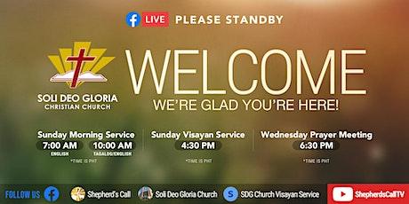 Sunday Morning 2nd Service tickets
