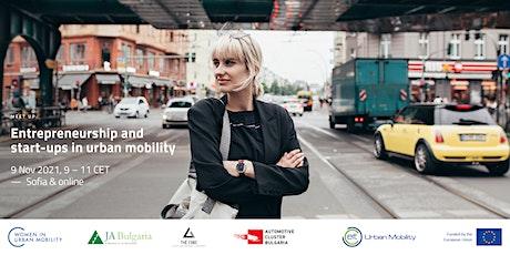 Entrepreneurship and Startups in Urban Mobility biglietti