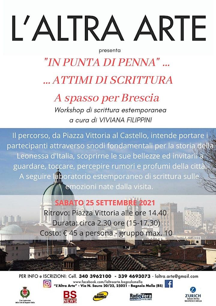 Immagine WORKSHOP DI SCRITTURA ESTEMPORANEA