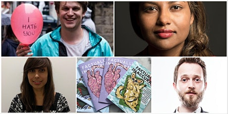 Factually Inaccurate Stand Up: Sharlin Jahan, Tom Crowley, Jacob Hatton! tickets