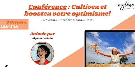 Conférence : cultiver et booster l'optimisme! billets