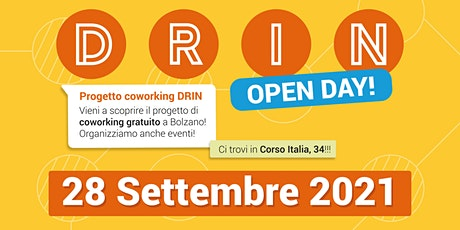 OPEN DAY | DRIN | 28.09.21 biglietti