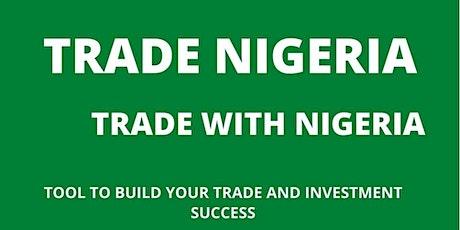 Trade Nigeria Organisation tickets