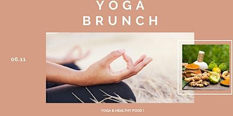 Yoga Brunch Octobre billets