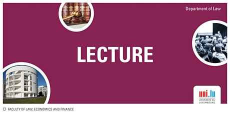 Lecture: Taxing Consumer Facing Business as a Regulatory Currency billets