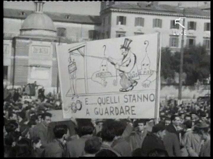 Immagine ITALIA '60: attori sulle barricate!