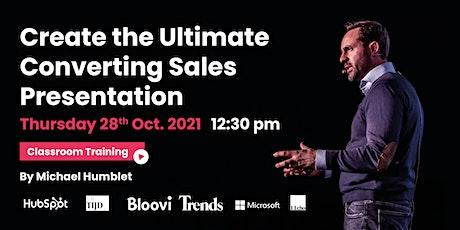 Create the Ultimate Converting Sales Presentation billets