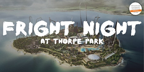 Fright Night at Thorpe Park Trip - Students' Union tickets