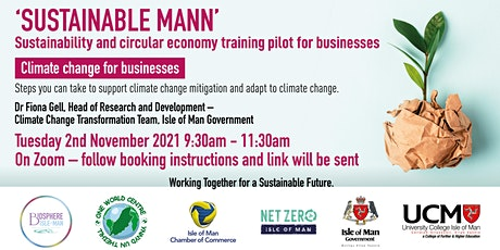 Climate Change for Businesses tickets