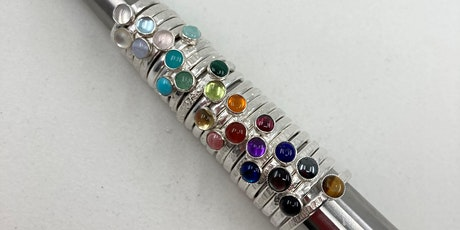 SILVERSMITH WORKSHOP: CREATE STACKING RINGS tickets