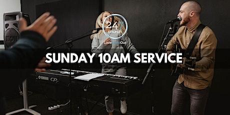 Sunday 10am service tickets