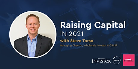 Raising Capital in 2021 tickets