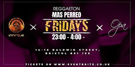 MasPerreo Fridays   Bristol Reggaeton Experience tickets