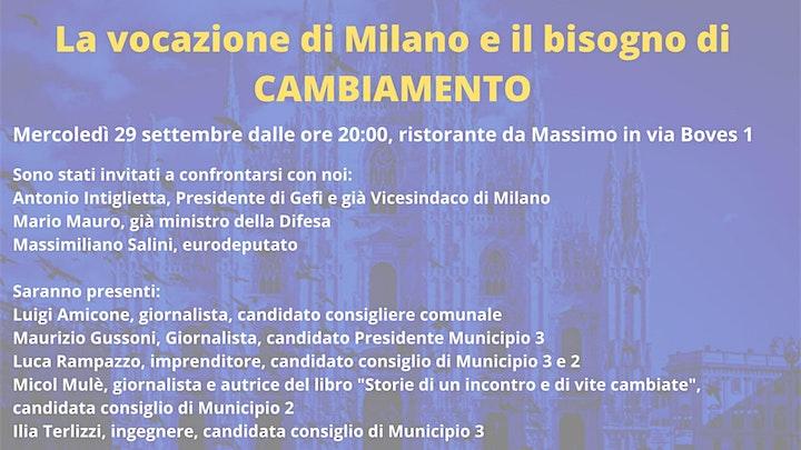 Immagine La vocazione di Milano e il bisogno di cambiamento