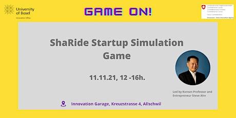 ShaRide: Startup Simulation  Game tickets