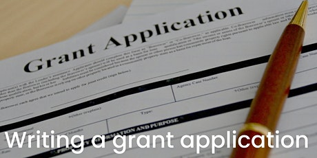 Writing a grant application tickets