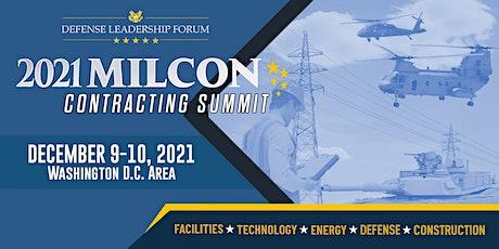 2021 MILCON Contracting Summit tickets