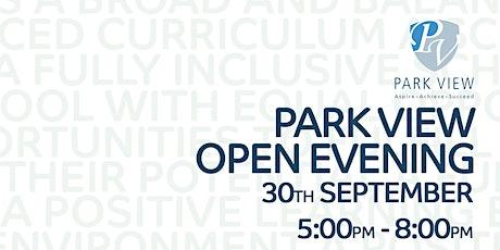 Park View School Open Evening tickets