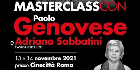 A Cinecittà l'attesa Masterclass Cinecibo con Paolo Genovese e la casting tickets