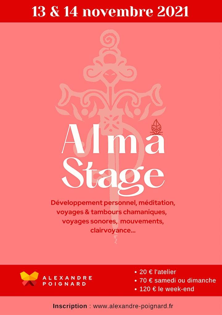 Image pour Alma : Stages de connaissance de soi -  Avec Alexandre Poignard