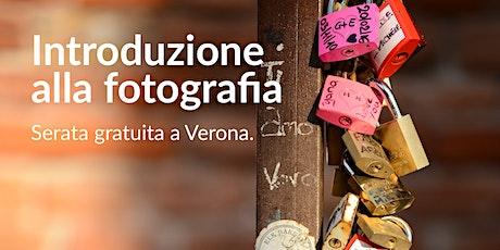 Introduzione alla fotografia - Prima lezione gratuita biglietti
