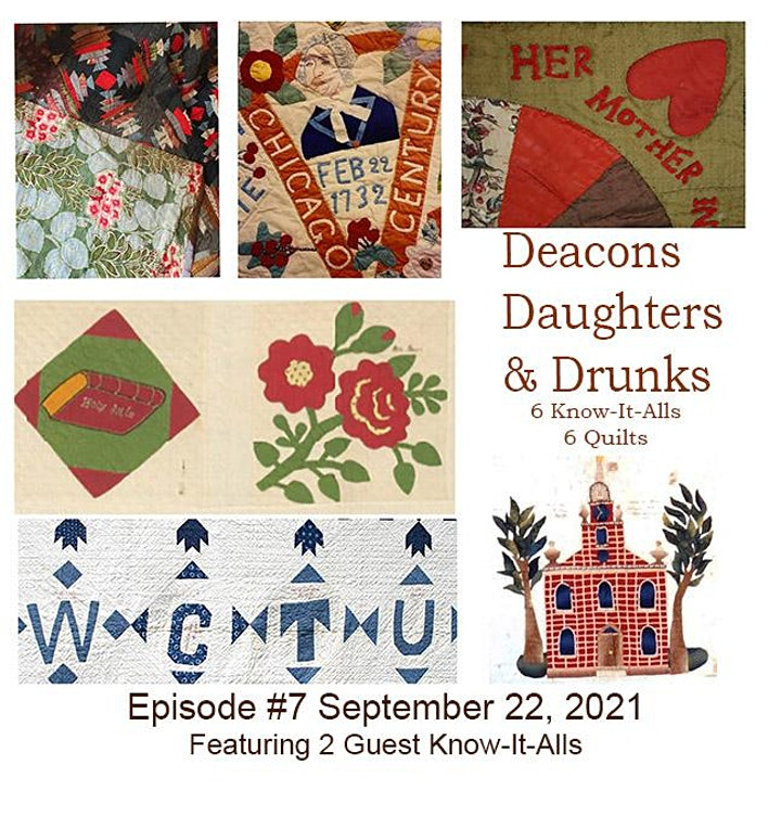 Six Know-It-Alls - Episode 7: Deacons, Daughters, and Drunks image