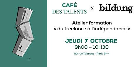 CAFÉ DES TALENTS - JEUDI 07 OCTOBRE tickets