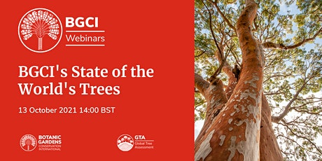 BGCI Webinar: State of the World's Trees tickets