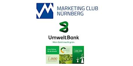 UmweltBank - Mein Geld macht grün. Tickets