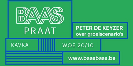 BAAS PRAAT | Peter De Keyzer over groeiscenario's tickets
