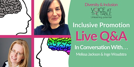 Diversity and Inclusion Q&A  LIVE: Inclusive Promotion tickets
