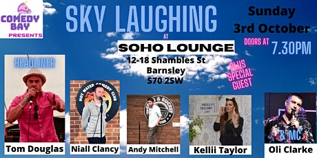 Sky Laughing @Soho Lounge - Sunday 3rd October 2021 tickets