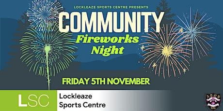 Community Fireworks Night tickets