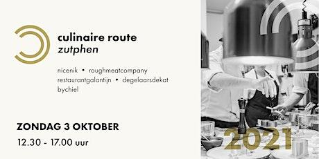 Culinaire Route Zutphen 2021 tickets