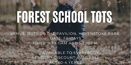 Forest School Tots_Afternoon Session tickets
