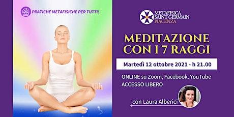 Meditazione con i 7 Raggi biglietti