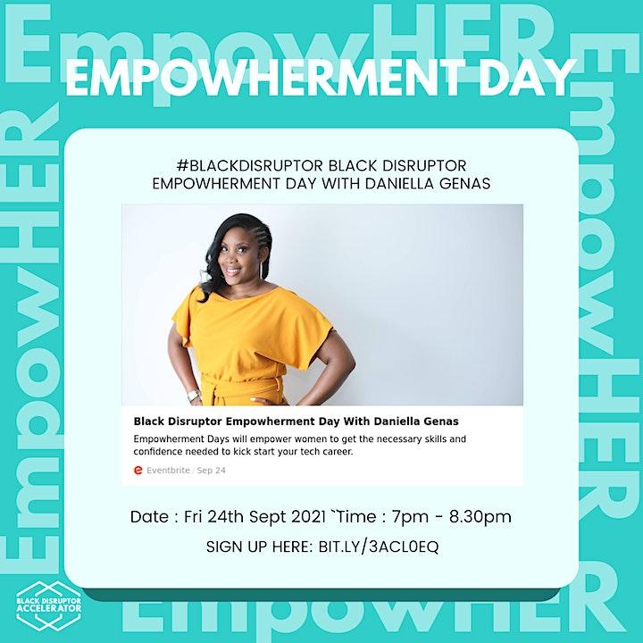 Black Disruptor Empowherment Day image