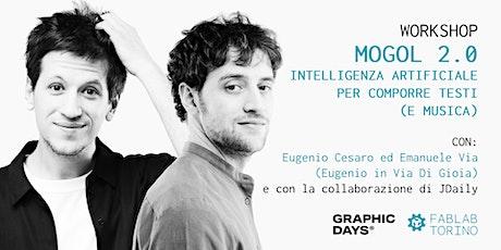 Workshop | Mogol 2.0 - AI per comporre testi con Eugenio in Via Di Gioia biglietti