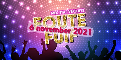 Foute fuif 2021 tickets