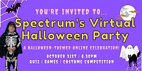 Spectrum Virtual Halloween Party tickets