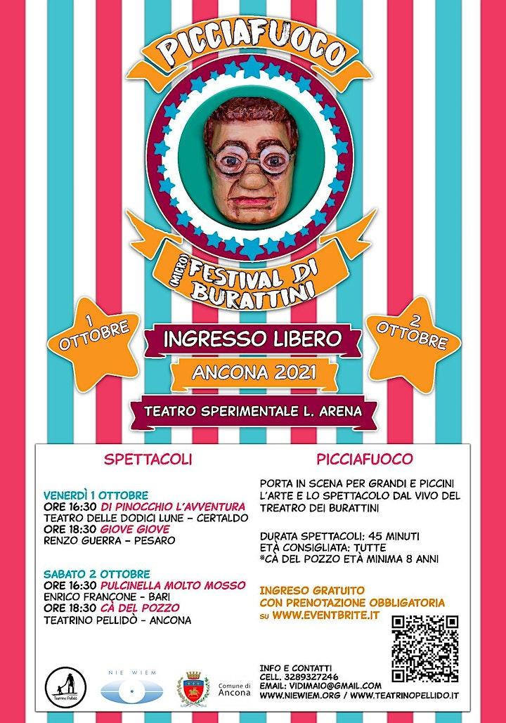 Immagine PICCIAFUOCO - (MICRO)FESTIVAL DI BURATTINI (IV EDIZIONE)