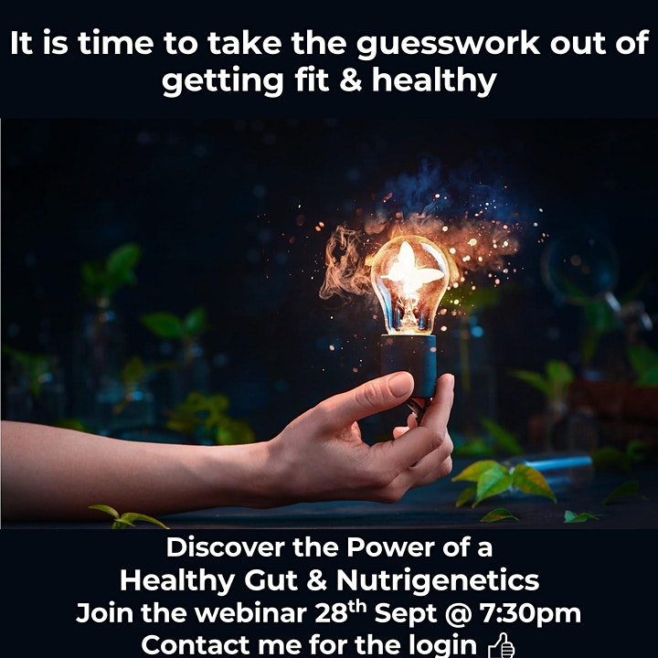 Gut Health & Nutrigenetics Webinar image