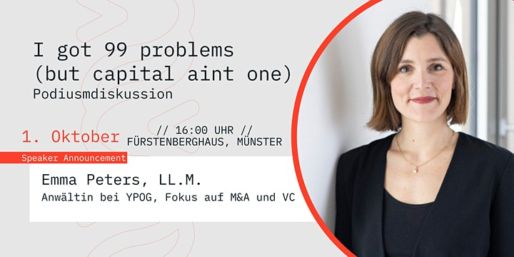 I got 99 problems (but capital ain't one) - Podiumsdiskussion: Bild